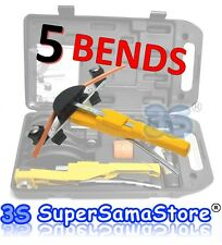 3S NEW Soft Copper Tube pipes ratchet Bender 5 BENDS - Plumbing Heater Crossbow