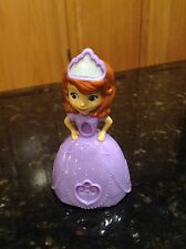 DISNEY SOFIA THE FIRST PRINCESS PVC PLAY FIGURE CAKE TOPPER STAMP