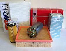 FOR AUDI A4 1.9 TDI 2.0 TDI 01-08 DIESEL SERVICE KIT OIL AIR FUEL POLLEN FILTER