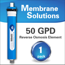 50 GPD RO Reverse Osmosis Membrane Water Filter System Residential 1812 50