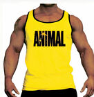 men BODYBUILDING TANK TOP GYM STRINGER WORKOUT VEST SINGLET Men Fitness shirt