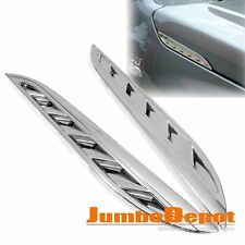 Chrome ARIA LATERALE Cappa sfiato Trim per SUZUKI GRAND VOYAGER 2007 2008 2009 2010 2011