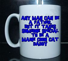 ANY MAN CAN BE A VATER JEMAND BESONDEREN TO MAINE-COON-KATZE DADDY Bedruckt Mug
