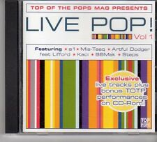 (FP456) Top of the Pops, Live Pop! Vol 1 - 2001 CD