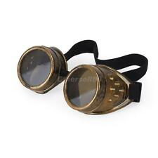Victorian Steampunk Cyber GOGGLES Welding Punk Gothic Cosplay Vintage - Copper