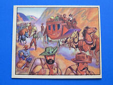 1949 BOWMAN WILD WEST ~ VIRGINIA CITY BOOM #A-24 ~ ULTRA HIGH GRADE ~ NM/MT