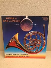 Winds of War Lowell Graham LP NM Wilson UNPLAYED TAS Audiophile Original Press