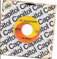 BEATLES * 45 * Roll Over Beethoven / Please Mister Postman * 1964 * CANADA * $75
