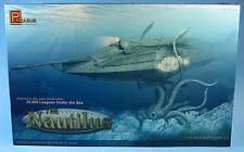 "Pegasus 1/144 The Nautilus Plastic Model Kit 9120 Jules Verne Inspired Kit 14"""