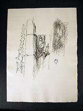 """Jacques Villon, né Gaston Émile Duchamp gravure  """"Les Frontières du matin"""" ,1962"""