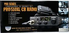 PRO510XL UNIDEN 40-Channel Compact CB Radio,Ultra-compact,coiled cord Microphone