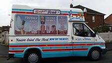 ice cream van Sign writing graphics
