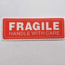 "FRAGILE HANDLE WITH CARE 50 ct. 1x3"" inch Sticker Labels FREE SHIPPING in the US"