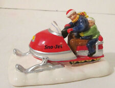 Dept 56 Snow Village Sno-Jet Snowmobile #51594