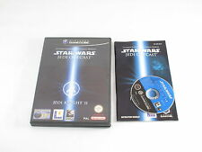 Nintendo Gamecube Star Wars Jedi Knight II 2 Jedi Outcast Pal Complete