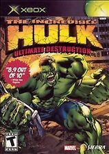XBOX  Incredible Hulk: Ultimate Destruction Game BRAND NEW SEALED