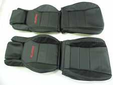 1986.5-1992 Toyota Supra MKIII Synthetic Leather Seat Covers Black