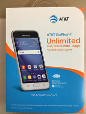 AT&T GO PHONE SAMSUNG GALAXY EXPRESS 3 4G LTE 8GB GSM SMARTPHONE SEALED!
