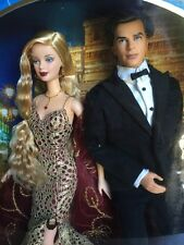 2002 Mattel ~ James Bond 007 Barbie and Ken Doll Set ~ NIB