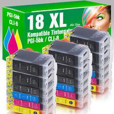 18 für Canon Pixma IP4200 IP5200 IP4500 IP4300 MP520 MP610 IP5300 MP600 mit Chip