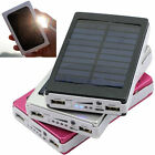 50000mAh 80000mAh Solar Charger Dual USB External Battery Power Bank For iphone