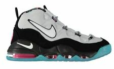 NIKE AIR MAX UPTEMPO SPURS RETRO SOUTH BEACH BLACK GREY TEAL PINK POW MENS 8.5
