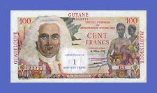 FRENCH ANTILLES - 100 FRANCS = 1 NOUVEAUX FRANCS 1961s -Reproductions