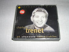 CHARLES TRENET DOUBLE CD SABAM COLLECTION D'OR