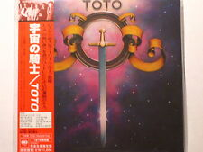 "TOTO ""S/T""  Japan mini LP  CD"