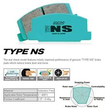 PROJECT MU TYPE NS NSF301 FRONT BRAKE PAD HONDA CIVIC EK EM1 EM2 COUPE SEDAN ABS