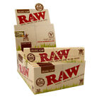 50 Full BOX RAW ORGANIC King Size Slim 110 mm Rolling Papers - Cigarette Paper