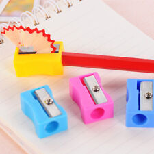 8x in Set Candy Color Cute Pencil Sharpener School Kid Favorite Stationary Gift