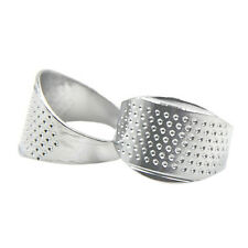 Thimble Sewing Quilting Metal Thimble Ring DIY Leather Craft Finger Protector