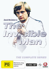 The Invisible Man - The Complete Series (DVD, 2012, 4-Disc Set) Region 4  New
