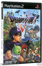Used PS2 Dragon Quest V SONY PLAYSTATION 2 JAPAN IMPORT