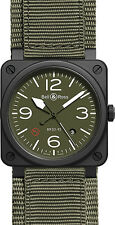 BR-03-92-MILITARY-TYPE | BELL & ROSS AVIATION | BRAND NEW & AUTHENTIC MENS WATCH