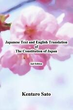 Japanese Text and English Translation of the Constitution of Japan by Kentaro...