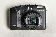 Canon PowerShot G12 Camera. Superb condition with box & accessories.