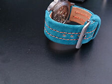 STRAP LE MANS GULF HOMAGE HANDMADE LE MANS STRAP22MM