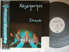 PROMO WHITE LABEL / KAJAGOOGOO ISLANDS / UN-PLAYED COMPLETE POSTER