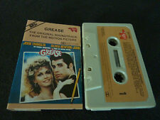 OLIVIA NEWTON JOHN GREASE RARE NEW ZEALAND SOUNDTRACK CASSETTE TAPE!