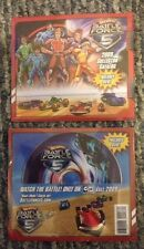 HOT WHEELS 2009 BATTLE FORCE 5 CARTOON NETWORK COLLECTOR CATALOG + DVD