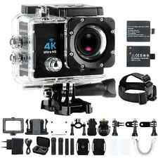 Sports Action Camera 4K Ultra HD 30fps Wifi Waterproof Cam DV Camcorder 12MP LCD