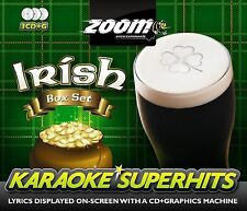 Cdg - Zoom Irish Karaoke Superhits Standard CD+G 3 Pack