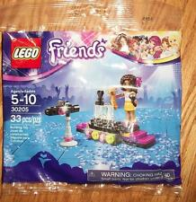"NEW / FACTORY SEALED LEGO Friends: Pop Star Red Carpet Polybag (30205) -""Andrea"""