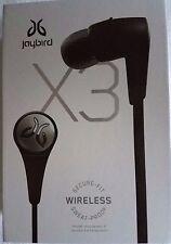 JayBird - X3 Wireless In-Ear Headphones - Blackout 985-000850, Brand New