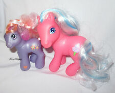 2002 G3 My Little Pony Baby Romperooni and Cotton Candy Figures Play or OOAK
