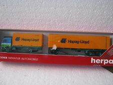 Herpa ho/1:87 811544 MB containerzug heik 78 Hannover Hapag-Lloyd (cc/985-13r6/5)