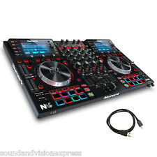 Numark NV II Pro USB MIDI MP3 Scratch Controller + 4-Channel Mixer + Serato DJ
