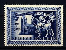 """BELGIUM - BELGIO - 1943 - Antiche statuette di """"San Martino"""" e chiese dedicate"""